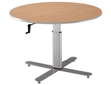 Adjustable Large Round Table
