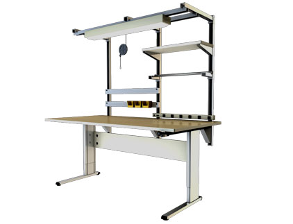 Accella Adjustable Workbench 2Leg