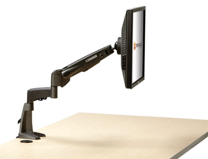 Industrial Bench Flat Panel Monitor Arm