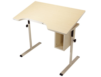 Adjustable Tilt Student Desk with Storage