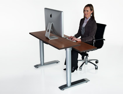 Vox Adjustable Dual Surface Workstation