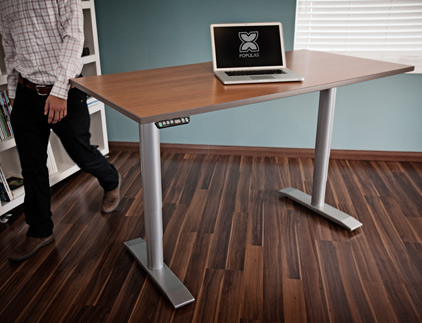 Vox Series Workstation with Eased Edge