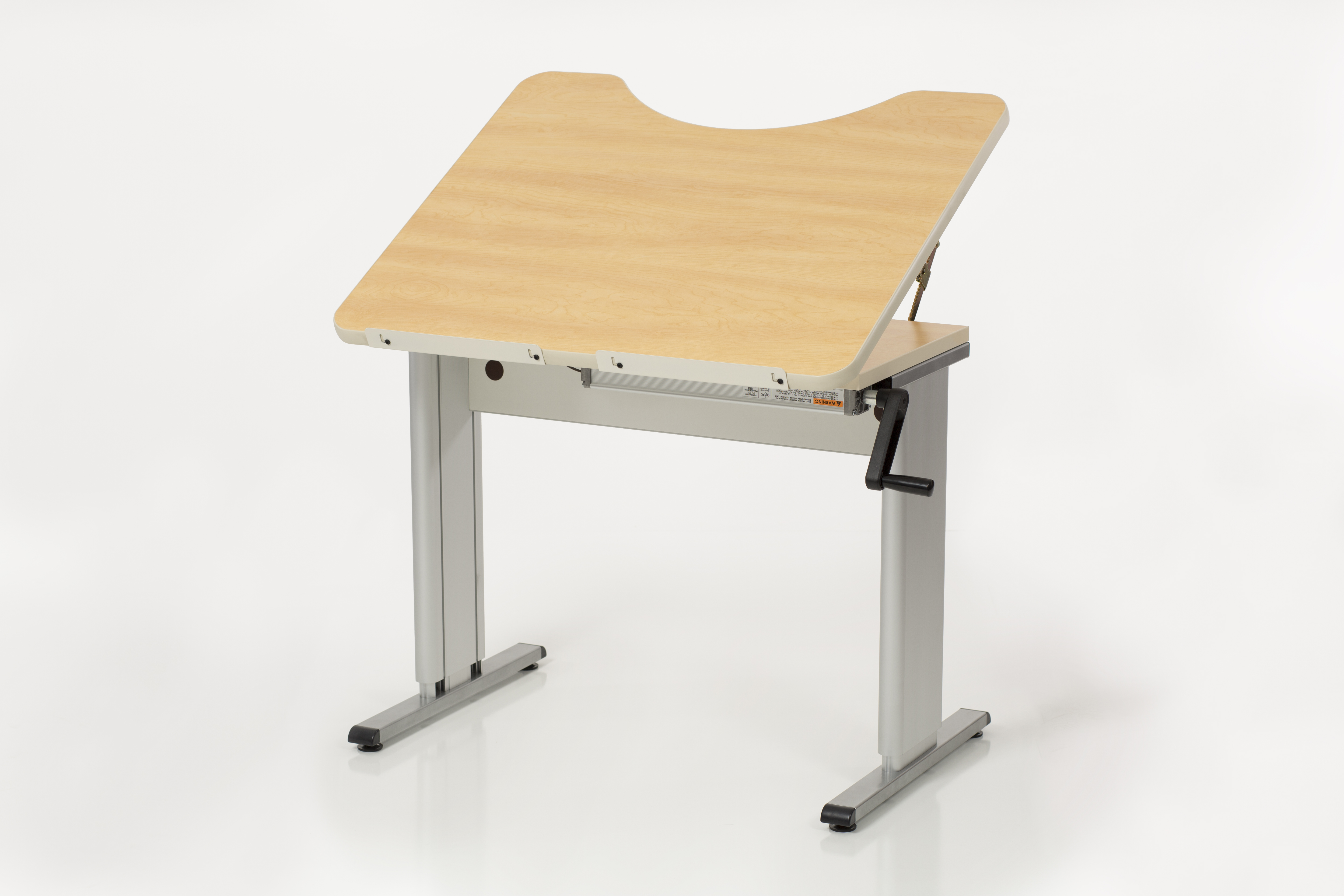 Activity/Computer Table Hand-crank Computer Workstation/Activity Table