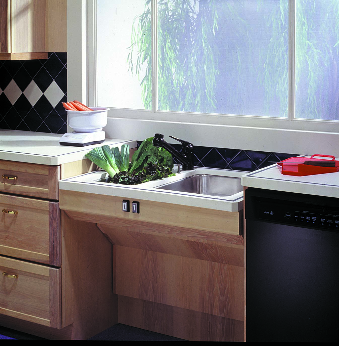 approach adjustable sink sink a sink a lowered - Ada Kitchen Sink