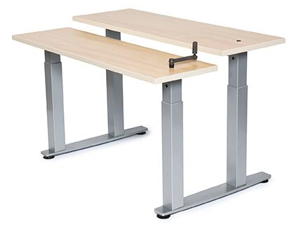 Equity Adjustable Bi-Level Workstation