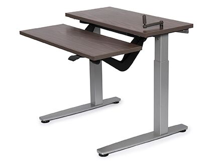 Equity Adjustable Bi-Level workstation with Keyboard Lift